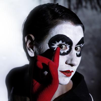 closeup profiel Pierrot Lunaire 2.0